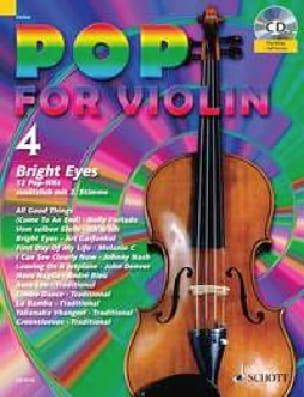 - Pop for Violin Volume 4 - Bright Eyes - Partition - di-arezzo.fr