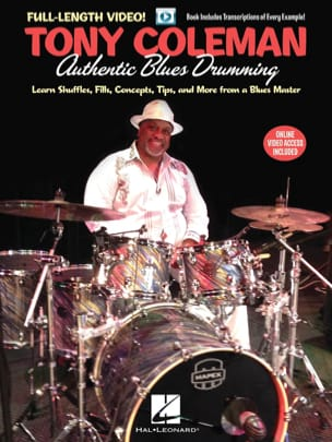 Tony Coleman - Authentic Blues Drumming - Partition - di-arezzo.fr