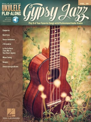 Ukulele Play-Along Volume 39 Gypsy Jazz - laflutedepan.com