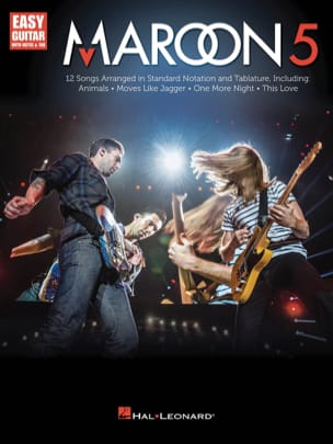 Maroon 5 - Easy Guitar Maroon 5 Partition Pop / Rock - laflutedepan