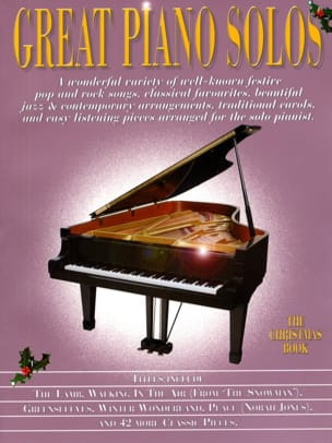 - Great Piano Solos - The Christmas Book - Partition - di-arezzo.fr