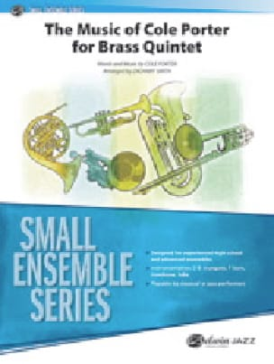 The Music of Cole Porter for Brass Quintet - laflutedepan.com