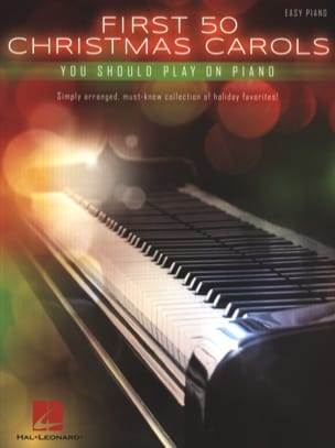 - First 50 Christmas Carols You Should Play On The Piano - Partition - di-arezzo.fr