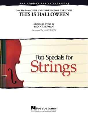 Danny Elfman - This Is Halloween - Pop Specials for Strings - Partition - di-arezzo.fr