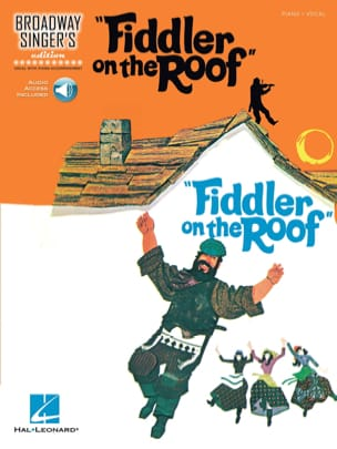 Broadway Singer's Edition - Fiddler On The Roof avec audio en téléchargment laflutedepan