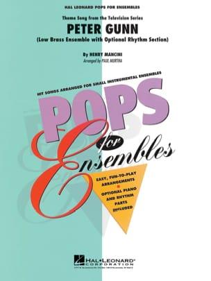 Henry Mancini - Peter Gunn - Pops For Ensemble - Partition - di-arezzo.fr