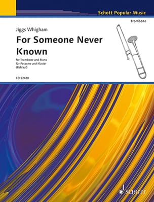 Jiggs Whigham - For Someone Never Known - Partition - di-arezzo.fr