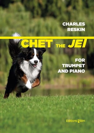 Chet The Jet Charles Reskin Partition Trompette - laflutedepan