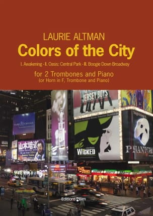 Laurie Altman - Colors of the City - Partition - di-arezzo.fr
