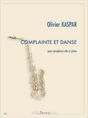 Olivier Kaspar - Lament and Dance - Sheet Music - di-arezzo.com