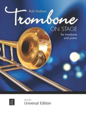 Trombone On Stage - Robert Hudson - Partition - laflutedepan.com