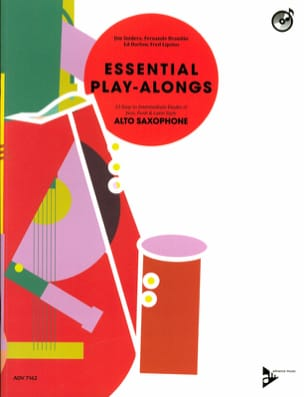 Jim Snidero, Fernando Brandao, Ed Harlow & Fred Lipsius - Essential Play-Alongs - Partition - di-arezzo.fr