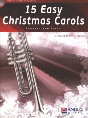 15 Easy Christmas Carols Noël Partition Trompette - laflutedepan