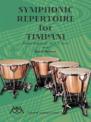 Mahler Gustav / Herbert David - Symphonic Repertoire For Timpani - Mahler Symphonies No. 4-6 - Sheet Music - di-arezzo.co.uk