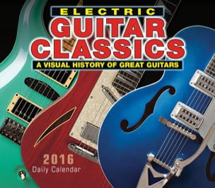 Accessoires - Electric Guitar Classics 2016 Daily Boxed Calendar - Accessory - di-arezzo.co.uk