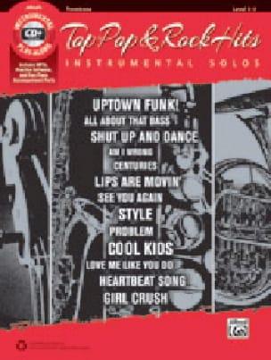 - Top Pop & Rock Hits Instrumental Solos-MP3 - Partition - di-arezzo.fr
