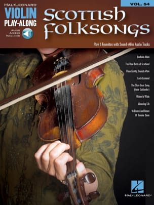Violin Play-Along Volume 54 Scottish Folksongs laflutedepan