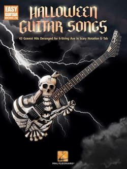 Halloween Guitar Songs - Easy Guitar - Partition - di-arezzo.fr