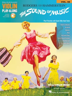 Violin Play-Along Volume 56 The Sound of Music laflutedepan
