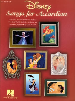 DISNEY - Disney Songs for Accordion - 3rd Edition - Partition - di-arezzo.fr