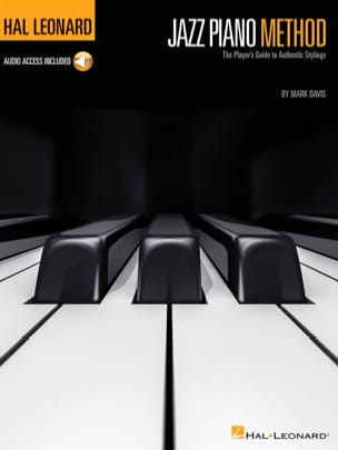Mark Davis - Hal Leonard Jazz Piano Method - Partition - di-arezzo.fr