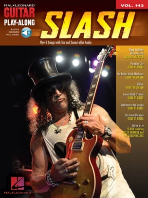 Guitar Play-Along Volume 143 Slash Slash Partition laflutedepan