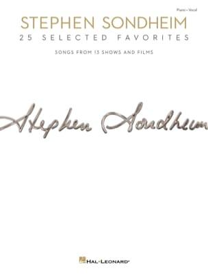 Stephen Sondheim - スティーブン・ソンドハイム - 25お気に入り - 楽譜 - di-arezzo.jp