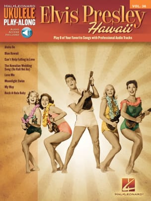 Elvis Presley - Ukulele Play-Along Volume 36 Elvis Presley Hawaii - Partition - di-arezzo.fr