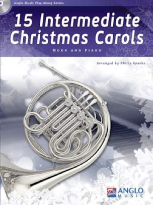 15 Intermediate Christmas Carols Noël Partition Cor - laflutedepan