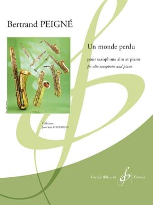 Un Monde Perdu - Bertrand Peigné - Partition - laflutedepan.com