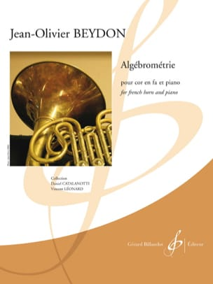 Jean-Olivier Beydon - Algébrométrie - Sheet Music - di-arezzo.co.uk