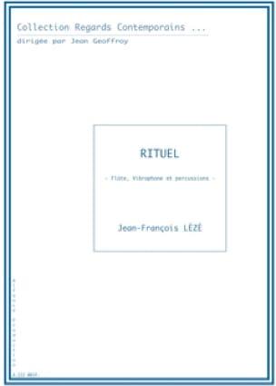 Rituel Jean-François Lézé Partition laflutedepan