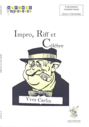 Yves Carlin - Impro, Riff and Famous - Sheet Music - di-arezzo.co.uk