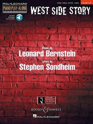 Leonard Bernstein & Stephen Sondheim - Piano Play-Along Volume 130 West Side Story - Partition - di-arezzo.fr