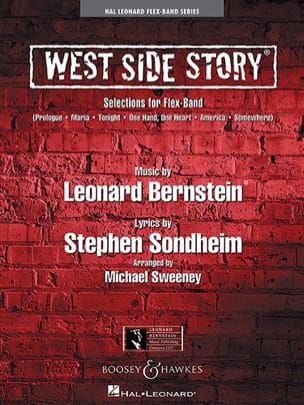 Leonard Bernstein & Stephen Sondheim - West Side Story Selections for Flex-Band - Partition - di-arezzo.fr