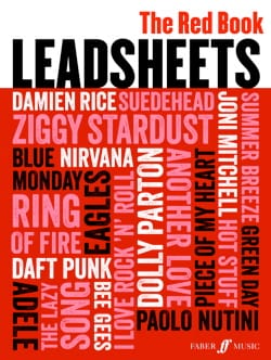 - Leadsheets The Red Book - Partition - di-arezzo.fr