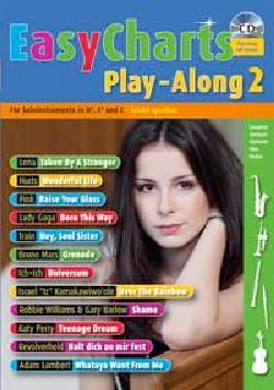 - Easy Charts Play-Along Volume 2 - Partition - di-arezzo.fr