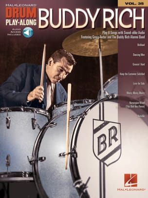Buddy Rich - Drum Play-Along Volume 35 - Buddy Rich - Partition - di-arezzo.fr