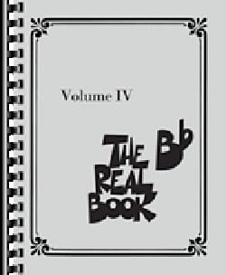 - The Real Book - Volume 4 in Bb - Sheet Music - di-arezzo.co.uk