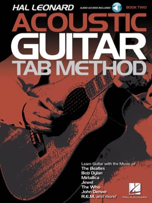 Hal Leonard Acoustic Guitar Tab Method Book 2 - laflutedepan.com