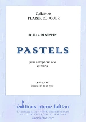 Gilles Martin - pastels - Sheet Music - di-arezzo.co.uk