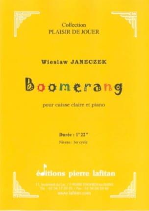 Boomerang - Wieslaw Janeczek - Partition - laflutedepan.com
