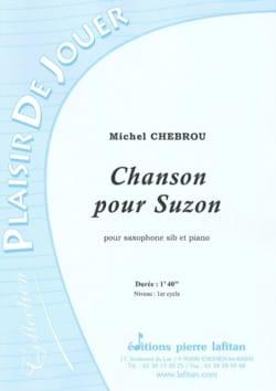 Michel Chebrou - Chanson pour Suzon - Partition - di-arezzo.fr