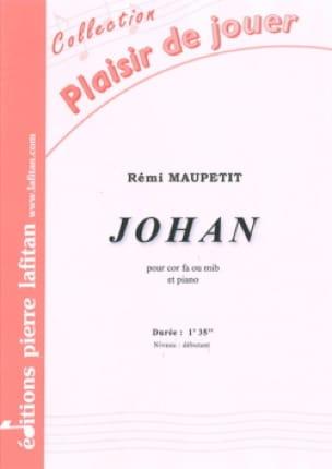 Johan - Rémi Maupetit - Partition - Cor - laflutedepan.com