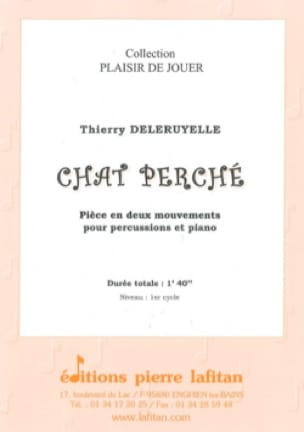Thierry Deleruyelle - Cat perched - Sheet Music - di-arezzo.com