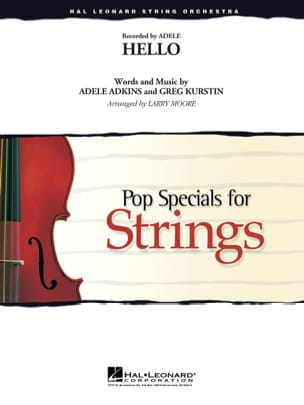 Adele - Hello - Pop Specials for Strings - Partition - di-arezzo.fr