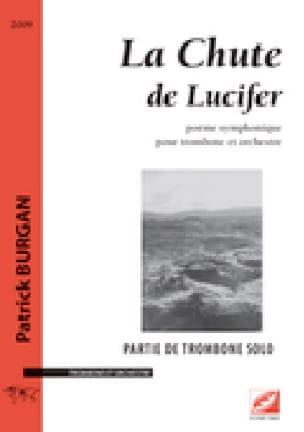 La Chute de Lucifer - Patrick Burgan - Partition - laflutedepan.com