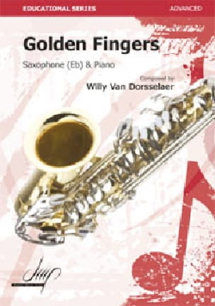Golden Fingers Van Dorsselaer, Willy Partition laflutedepan