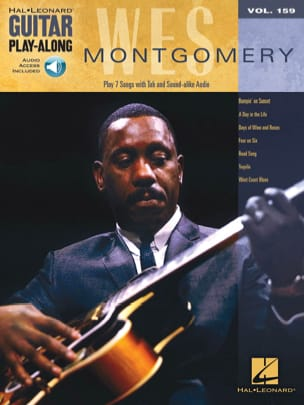 Wes Montgomery - Guitarra Play-Along Volume 159 Wes Montgomery - Partitura - di-arezzo.es
