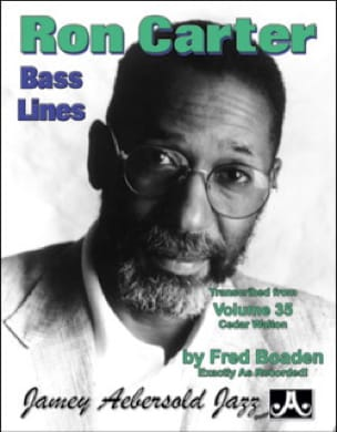 METHODE AEBERSOLD - Aebersold 35 - Bass Lines Transcribed from Aebersold 35 - Cedar Walton - Sheet Music - di-arezzo.co.uk